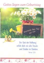 Postkartenserie Geburtstag, 8 Stück