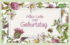 Kräuter-Dip-Postkarte - Alles Gute zum Geburtstag!