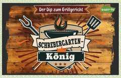 Kräuter-Dip-Postkarte - Schrebergarten-König