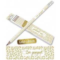 Bleistifte: Sei gesegnet (Gold-Edition, 5er-Pack)