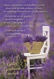 Faltkarte: Gottes Geschenk an dich - Neutral