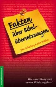Fakten über Bibelübersetzungen