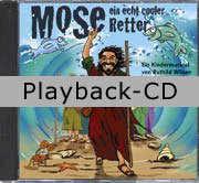 Playback-CD: Mose - ein echt cooler Retter