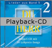 Playback-CD: Du bist Herr 5 Vol. 2 (zu CD 1)