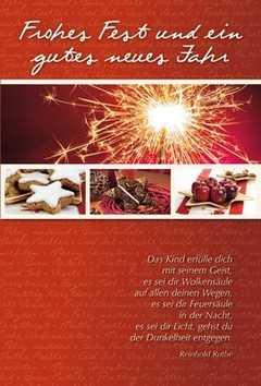 Faltkarte: Das Kind erfülle dich - Weihnachten