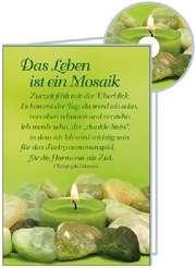 CD-Card: Das Leben ist ein Mosaik - neutral