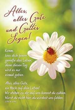 Faltkarte Alles Alles Gute Geburtstag Soren Kahl Sendbuch De