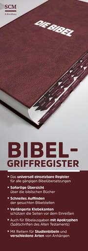 Bibel-Griffregister rot