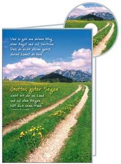 Und so geh nun deinen Weg CD-Card GEBURTSTAG - Clemens